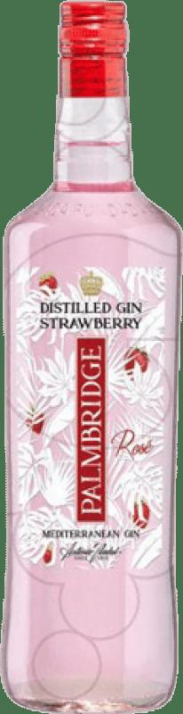 11,95 € Kostenloser Versand | Gin Gin Palmbridge Strawberry Spanien Rakete Flasche 1 L