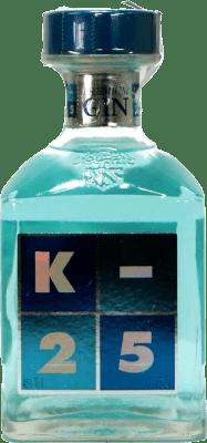 18,95 € Kostenloser Versand | Gin K-25 Premium Gin Spanien Flasche 70 cl
