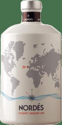 23,95 € Kostenloser Versand | Gin Atlantic Galician Nordés Atlantic Gin Spanien Flasche 70 cl