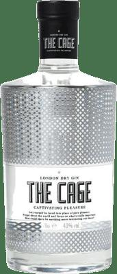 18,95 € Kostenloser Versand | Gin The Cage Gin Spanien Flasche 70 cl