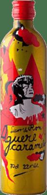 14,95 € Free Shipping | Spirits Aguere Caramelo Spain Bottle 70 cl
