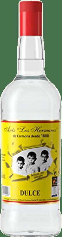 11,95 € Envío gratis | Anisado Anís Los Hermanos Dulce España Botella Misil 1 L