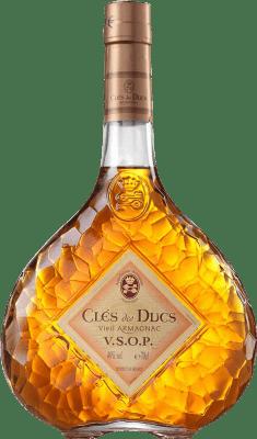 21,95 € Envío gratis | Armagnac Cles de Ducs V.S.O.P. Very Superior Old Pale Francia Botella 70 cl