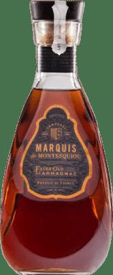 47,95 € Envío gratis | Armagnac Montesquiou Extra Old Francia Botella 70 cl