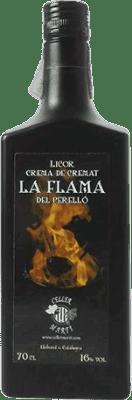 9,95 € Envío gratis | Crema de Licor La Flama Cremat España Botella 70 cl