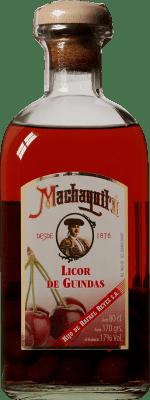 11,95 € Free Shipping | Spirits Licor de Guindas Machaquito Spain Bottle 80 cl