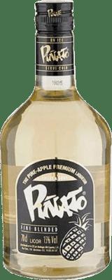 8,95 € Kostenloser Versand | Liköre Piñato Pineapple Licor de Whisky Spanien Flasche 70 cl