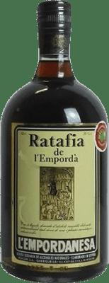 8,95 € Kostenloser Versand | Verdauungs Ratafia l'Empordanesa Spanien Flasche 70 cl