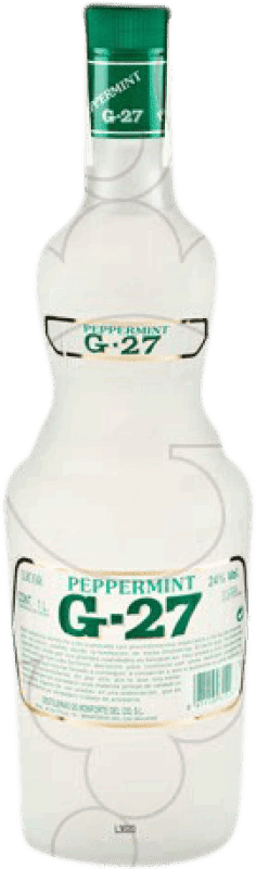 12,95 € Free Shipping | Spirits Salas Blanco G-27 Peppermint Spain Missile Bottle 1 L