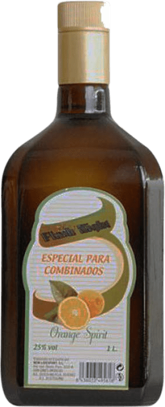 8,95 € Envío gratis | Triple Seco Flash Night España Botella Misil 1 L