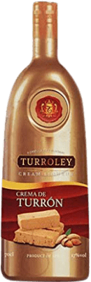 9,95 € Envío gratis | Crema de Licor Turroley Crema de Turrón España Botella 70 cl