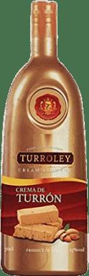 9,95 € Kostenloser Versand   Likörcreme Turroley Crema de Turrón Spanien Flasche 70 cl