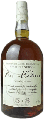 81,95 € Free Shipping | Rum Williams & Humbert Dos Maderas Añejo 5+3 Spain Jeroboam Bottle-Double Magnum 3 L
