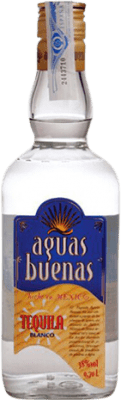 11,95 € Free Shipping | Tequila Aguas Buenas Blanco Mexico Bottle 70 cl