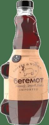 14,95 € Envío gratis | Vodka Beremot Coffee España Botella 70 cl