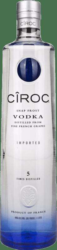 34,95 € Free Shipping | Vodka Cîroc France Missile Bottle 1 L