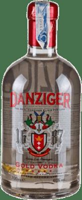 17,95 € Envío gratis | Vodka Danziger Gold Irlanda Botella 70 cl