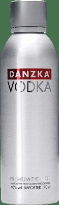 12,95 € Envío gratis | Vodka Danzka Dinamarca Botella 70 cl