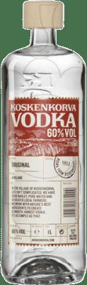 19,95 € Free Shipping | Vodka Koskenkorva 013 60% Finland Missile Bottle 1 L