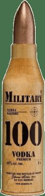 41,95 € Free Shipping | Vodka Military 100 Poland Missile Bottle 1 L