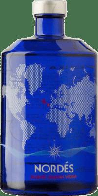 32,95 € Envoi gratuit | Vodka Galician Original Nordés Atlantic Espagne Bouteille 70 cl