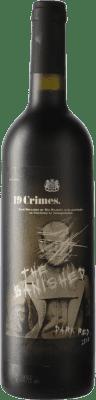 9,95 € Kostenloser Versand | Rotwein 19 Crimes The Banished Crianza Australien Syrah Flasche 75 cl