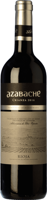 6,95 € Free Shipping | Red wine Azabache Crianza D.O.Ca. Rioja The Rioja Spain Bottle 75 cl