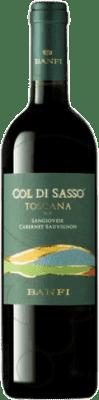 9,95 € Free Shipping | Red wine Castello Banfi Col di Sasso Otras D.O.C. Italia Italy Cabernet Sauvignon, Sangiovese Bottle 75 cl