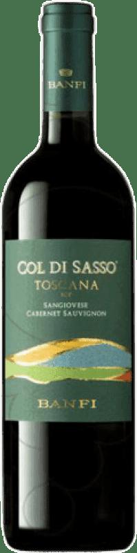 7,95 € Free Shipping | Red wine Castello Banfi Col di Sasso Otras D.O.C. Italia Italy Cabernet Sauvignon, Sangiovese Bottle 75 cl