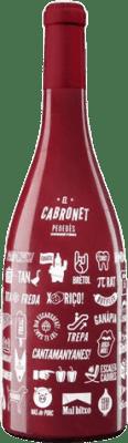 17,95 € 免费送货   红酒 El Cabronet Negre Crianza D.O. Penedès 加泰罗尼亚 西班牙 Cabernet Sauvignon 瓶子 Magnum 1,5 L