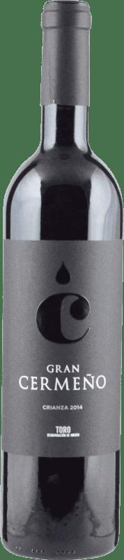 7,95 € Envoi gratuit | Vin rouge Gran Cermeño Crianza D.O. Toro Castille et Leon Espagne Tempranillo Bouteille 75 cl
