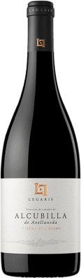 41,95 € Free Shipping | Red wine Legaris Alcubilla de Avellaneda D.O. Ribera del Duero Castilla y León Spain Tempranillo Bottle 75 cl