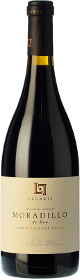 33,95 € Free Shipping | Red wine Legaris Moradillo de Roa D.O. Ribera del Duero Castilla y León Spain Tempranillo Bottle 75 cl