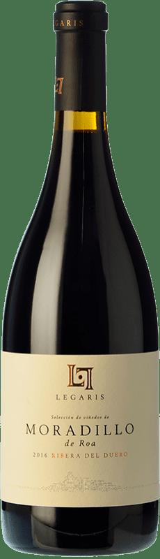 29,95 € Envío gratis   Vino tinto Legaris Moradillo de Roa D.O. Ribera del Duero Castilla y León España Tempranillo Botella 75 cl