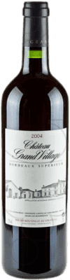 22,95 € Free Shipping | Red wine Jean-Pierre Moueix Château Grand Village A.O.C. Bordeaux France Merlot, Cabernet Franc Bottle 75 cl