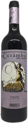 8,95 € Free Shipping | Red wine Noctàmbul Joven D.O. Empordà Catalonia Spain Merlot, Grenache Bottle 75 cl