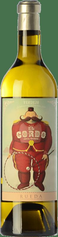 14,95 € Free Shipping | White wine El Gordo del Circo Joven D.O. Rueda Castilla y León Spain Verdejo Bottle 75 cl