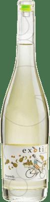 11,95 € Envio grátis | Vinho branco Exotic Joven D.O. Empordà Catalunha Espanha Sauvignon Branca Garrafa 75 cl