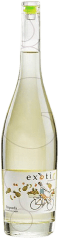 11,95 € Free Shipping | White wine Exotic Joven D.O. Empordà Catalonia Spain Sauvignon White Bottle 75 cl