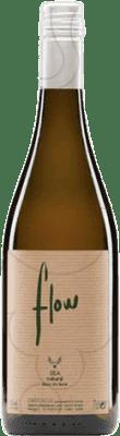 12,95 € Envío gratis | Vino blanco Flow Joven D.O. Empordà Cataluña España Picapoll, Cariñena Blanca Botella 75 cl