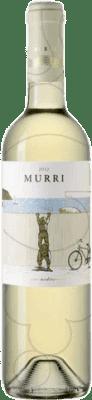 8,95 € Envío gratis | Vino blanco Murri Blanc Joven D.O. Empordà Cataluña España Garnacha Blanca, Macabeo Botella 75 cl