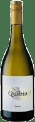 16,95 € Spedizione Gratuita | Vino bianco Quibia Crianza I.G.P. Vi de la Terra de Mallorca Isole Baleari Spagna Callet, Prensal Blanco Bottiglia 75 cl