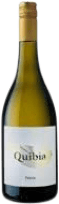 15,95 € Envío gratis | Vino blanco Quibia Crianza I.G.P. Vi de la Terra de Mallorca Islas Baleares España Callet, Prensal Blanco Botella 75 cl