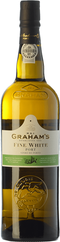 7,95 € Free Shipping | Fortified wine Graham's Blanco Oporto I.G. Porto Portugal Malvasía, Códega, Rabigato, Viosinho Bottle 75 cl