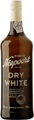 11,95 € Free Shipping | Fortified wine Niepoort Blanco Oporto Dry I.G. Porto Portugal Malvasía, Godello, Rabigato Bottle 75 cl
