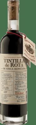 43,95 € Kostenloser Versand | Verstärkter Wein Finca Moncloa de Rota I.G.P. Vino de la Tierra de Cádiz Andalucía y Extremadura Spanien Tintilla Halbe Flasche 50 cl