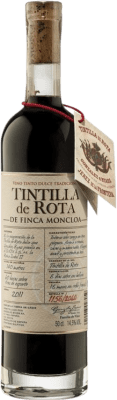 43,95 € Envío gratis | Vino generoso Finca Moncloa de Rota I.G.P. Vino de la Tierra de Cádiz Andalucía y Extremadura España Tintilla Media Botella 50 cl