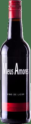 9,95 € Kostenloser Versand | Verstärkter Wein Tostado Meus Amores Galizien Spanien Flasche 75 cl