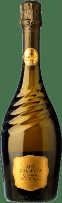 15,95 € Kostenloser Versand | Weißer Sekt Ars Collecta Blanc de Blancs Brut Gran Reserva D.O. Cava Katalonien Spanien Flasche 75 cl