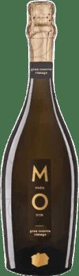 9,95 € Kostenloser Versand | Weißer Sekt Mo Masía d'Or Brut Natur Gran Reserva D.O. Cava Katalonien Spanien Flasche 75 cl
